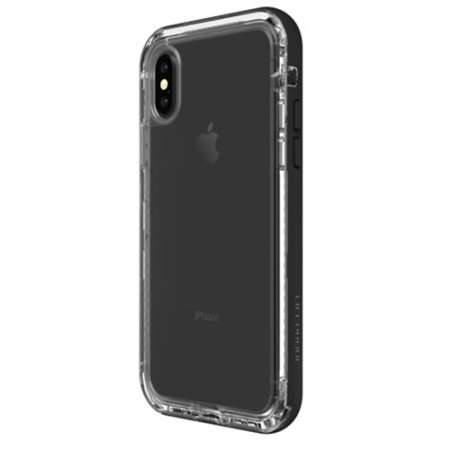 buy online acddf e31b4 LifeProof NEXT iPhone X Tough Case - Black Crystal