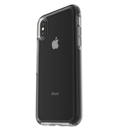 otterbox symmetry iphone x case - clear