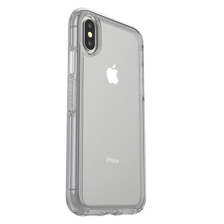 the latest 0def5 7d870 OtterBox Symmetry iPhone X Case - Clear Stardust