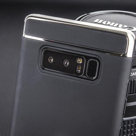 Olixar X-Ring Samsung Galaxy Note 8 Finger Loop Case - Black