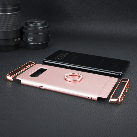 Olixar XRing Samsung Galaxy Note 8 Finger Loop Case - Rose Gold