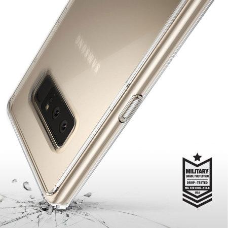 Rearth Ringke Fusion Samsung Galaxy Note 8 Skal - Klar