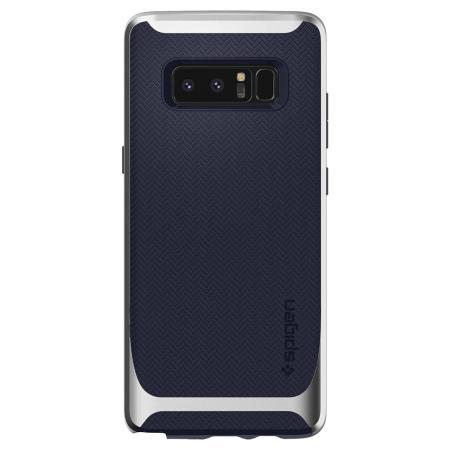 release date c30bc 13a53 Spigen Neo Hybrid Samsung Galaxy Note 8 Case - Silver Arctic