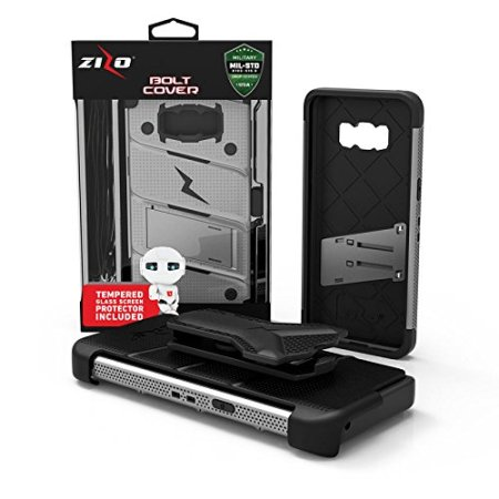 Zizo Bolt Series Samsung Galaxy Note 8 Tough Case Hülle & Gürtelclip  - Stehlen