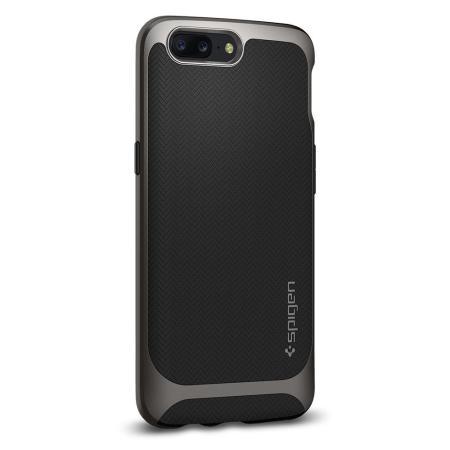 Spigen Neo Hybrid OnePlus 5 Skal - Gunmetal