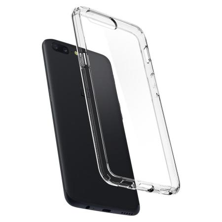cheaper 5ce14 4ef34 Spigen Ultra Hybrid OnePlus 5 Case - Clear