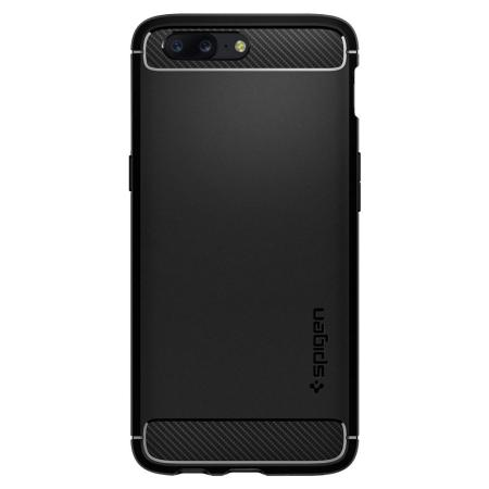 Spigen Rugged Armor OnePlus 5 Tough Case - Black