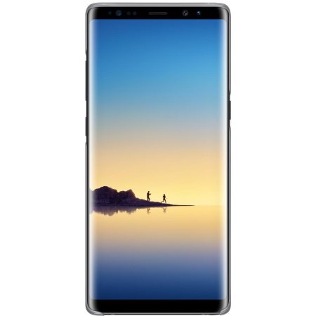 Officiële Samsung Galaxy Note 8 Clear Cover Case - Zwart