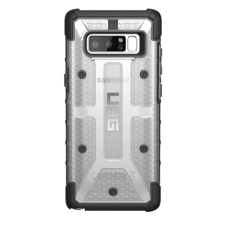huge selection of 45682 35434 UAG Plasma Samsung Galaxy Note 8 Protective Case - Ice / Black