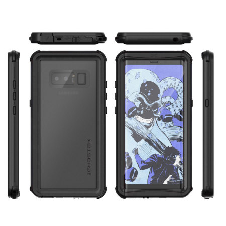 finest selection b9d29 02acb Ghostek Nautical Series Samsung Galaxy Note 8 Waterproof Case - Black