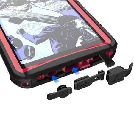 ghostek note 8  Ghostek Nautical Series Samsung Galaxy Note 8 Waterproof Case - Red