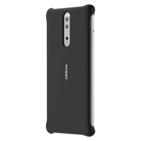 Official Nokia 8 Soft Touch Case - Black