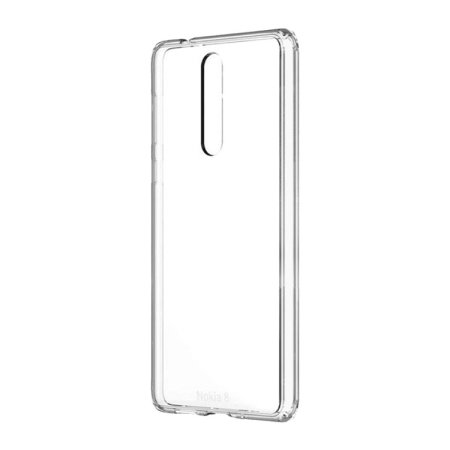 Official Nokia 8 Hybrid Crystal Case - Clear