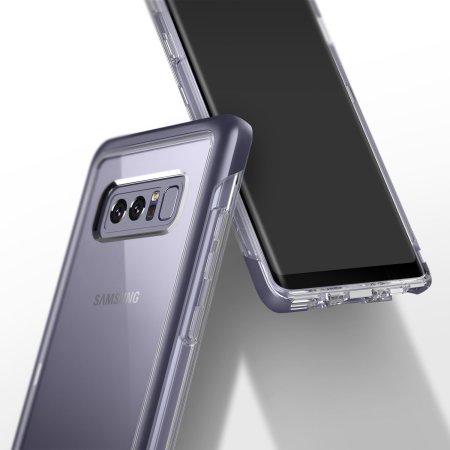 09fdb1230a4 Funda Galaxy Note 8 Caseology Skyfall Series - Gris Orquidea