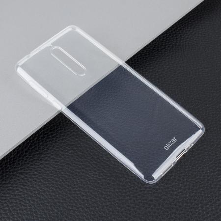 Olixar Ultra-Thin Nokia 8 Case - 100% Clear