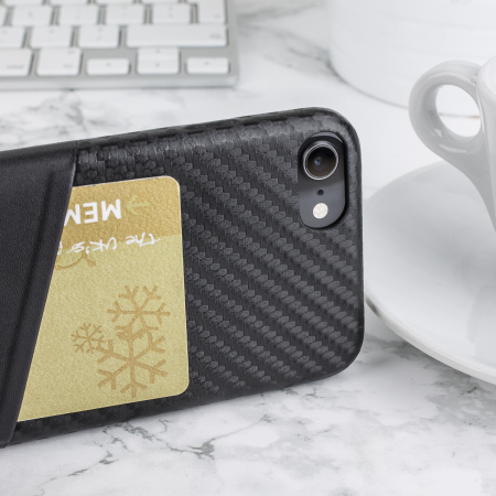 coque iphone 8 carbone