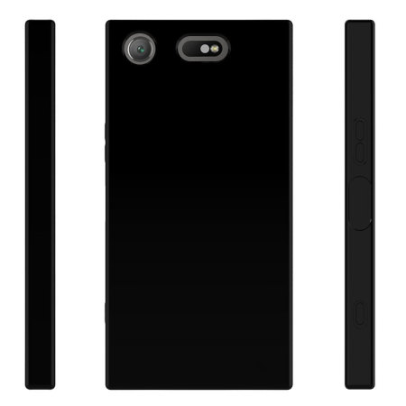 Olixar Flexishield Sony Xperia XZ1 Compact Gel Case - Solid Black
