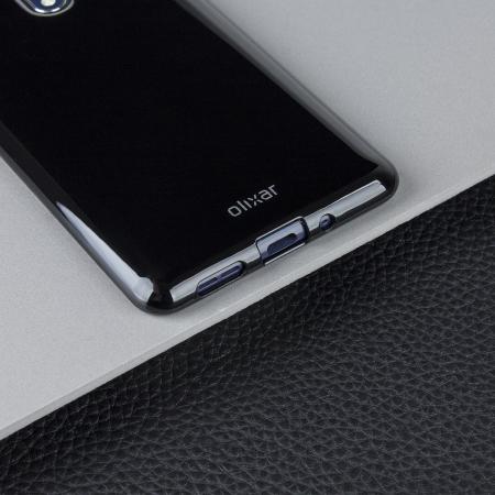 Olixar FlexiShield Nokia 8 Gel Case - Solid Black