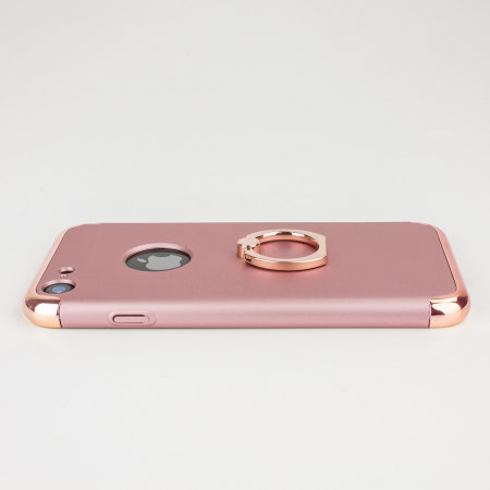 olixar xring iphone 8 / 7 finger loop case - rose gold