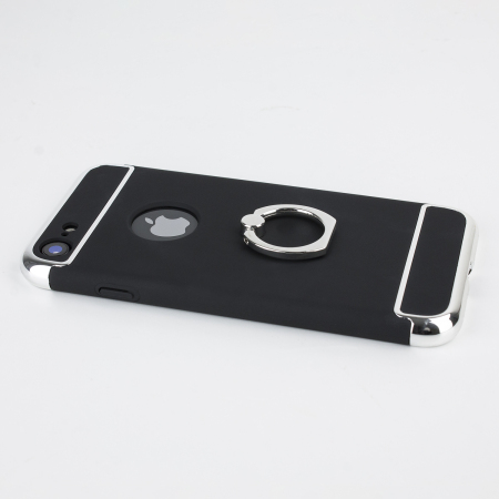 olixar xring iphone 8 / 7 finger loop case - black