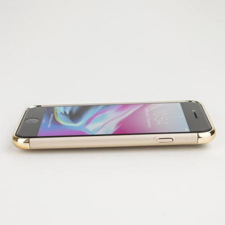 olixar xring iphone 8 / 7 finger loop case - gold