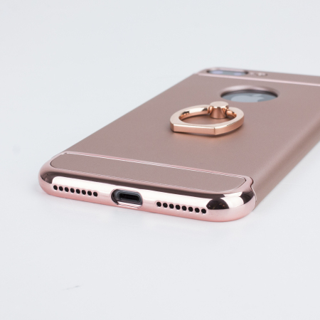 Olixar XRing iPhone 8 Plus / 7 Plus Finger Loop Case - Rose Gold