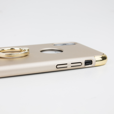 olixar xring iphone x finger loop case - gold