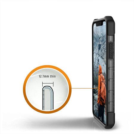 uag plasma iphone x protective case - ash