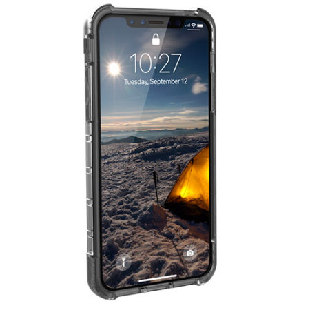 uag plyo iphone x tough protective case - ash