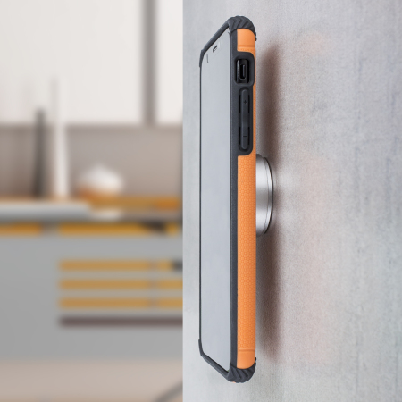 huge discount 48bc4 b7814 Olixar Magnus Iphone X Case And Magnetic Holders - Orange