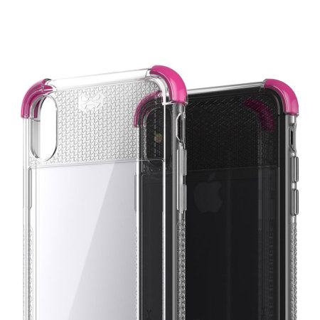 Ghostek Covert 2 iPhone X Bumper Case - Helder / Roze