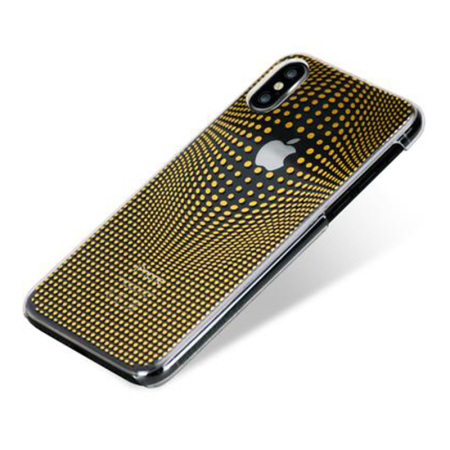 bling my thing warp iphone x case - gold