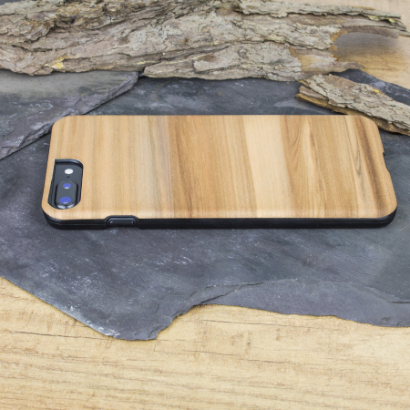 Funda iPhone iPhone 8 Plus /7 Plus de madera Man & Wood - Cappuccino
