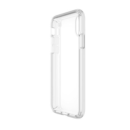 iphone x tough case - speck presidio clear