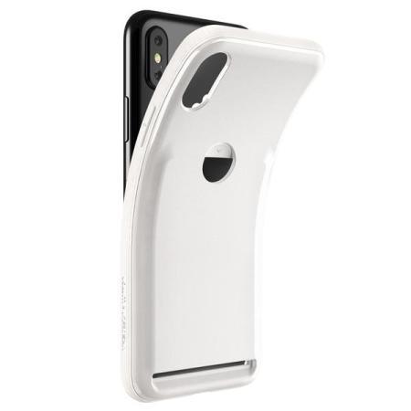 vrs design damda fit iphone x case - light pebble