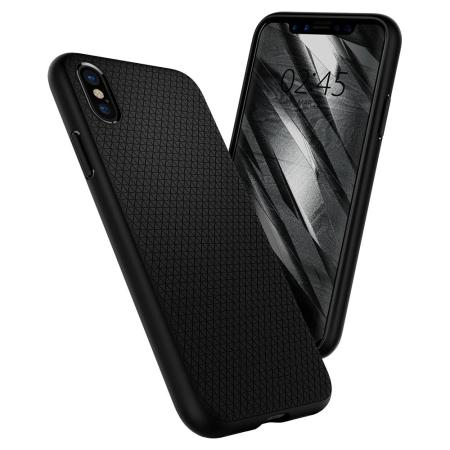 Spigen Liquid Air iPhone X - Matte Black
