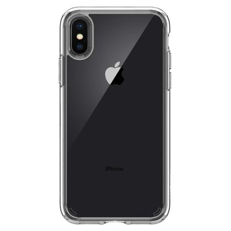 5c95541e6 Spigen Ultra Hybrid iPhone X Case - Crystal Clear
