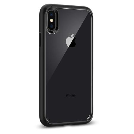 spigen ultra hybrid iphone x case - matte black