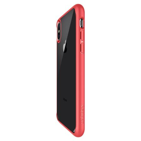 coque iphone x spigen rouge