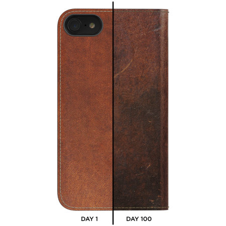 nomad iphone 8 / 7 genuine leather folio case