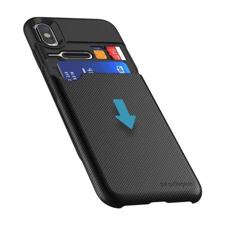 coque iphone x card