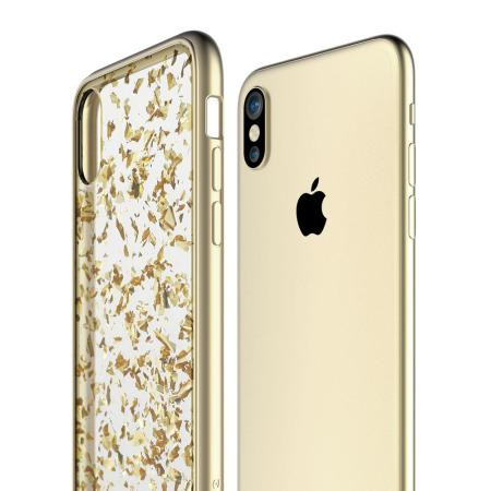 prodigee scene treasure iphone x case - gold