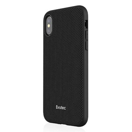 Evutec AERGO Ballistic Nylon iPhone X  Skal & Ventil Mount - Svart