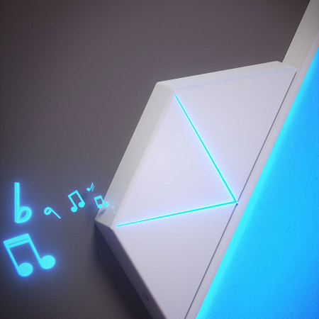 Kit Nanoleaf Rhythm Module Son
