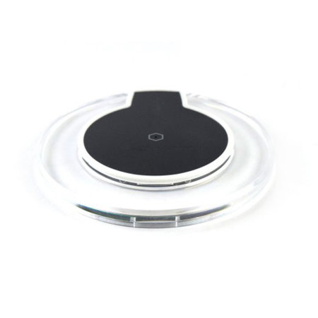 Universal Slim Qi Wireless Charging Pad - Clear