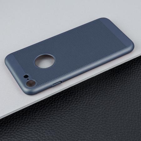 coque iphone 8 bleu foncé