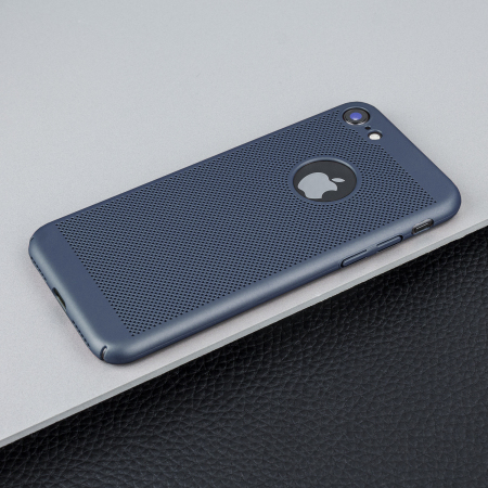 iphone 8 coque bleu marine