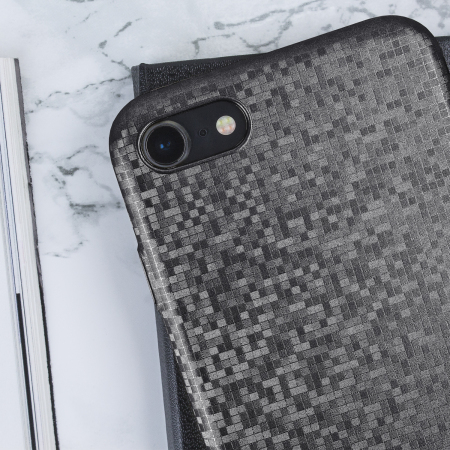 LoveCases Check Yo Self iPhone 8 / 7 Case - Sparkling Black
