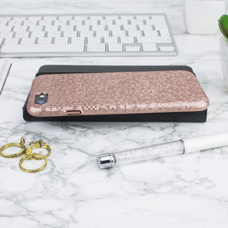 LoveCases Check Yo Self iPhone 8 / 7 Case - Rose Gold