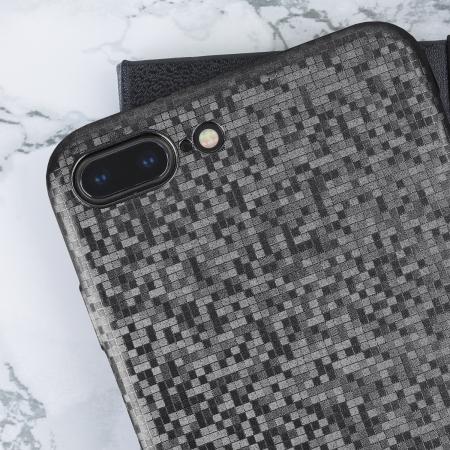 iPhone 8 Plus / 7 Plus Designer Case - LoveCases Sparkling Black